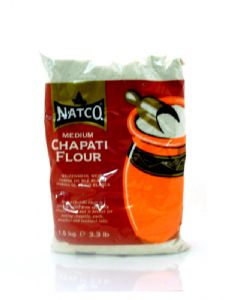 Chapati Flour [Medium Chapatti Atta by Natco] | Buy Online at The Asian Cookshop